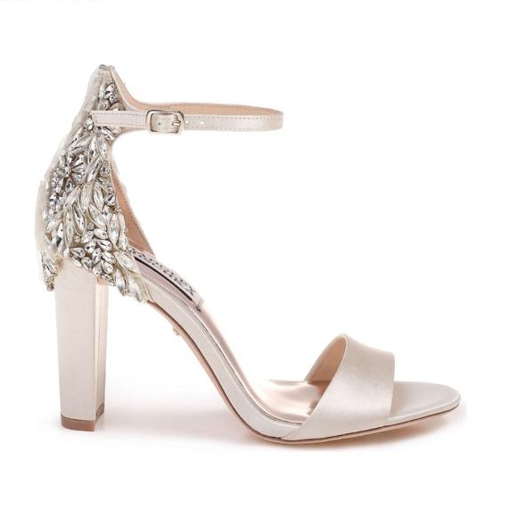 76e8bd45a3b Badgley Mischka Seina Ankle Strap Sandal- Size 7